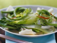 Thai Noodles with Broth recipe