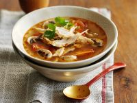 Thai Soup with Chicken recipe