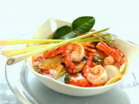 Thai Soup with Prawns recipe
