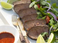 Thai-Style Beef with Salad recipe