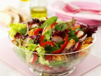 Thai-style Crisp Chicken Salad recipe