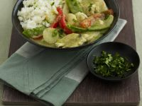 Thai-style Green Curry with Rice recipe