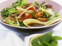 Thai-style Sliced Chicken with Salad recipe