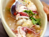 Thai-style Squid Soup recipe