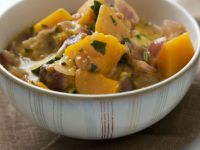 Thai-style Zucchini And Pumpkin Curry recipe