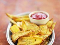 Thin Sweet Potato Wedges recipe