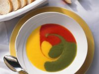 Three Bell Pepper Soup recipe