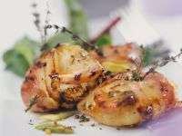 Thyme and Bacon Scallops recipe