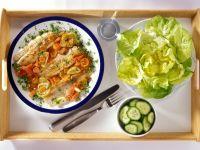 Tilapia with Carrots recipe
