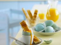 Toast Soldiers with Egg recipe