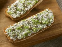 Toast with Sardine and Cream Cheese Spread recipe