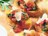 Toasted Bread with Tomato Confit recipe