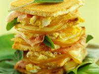 Toasted Italian Egg Sandwich recipe