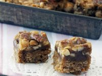 Toffee Nut Oatmeal Squares recipe