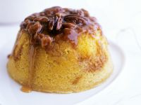 Toffee Nut Sponge Pudding recipe
