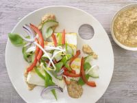 Tofu and Cucumber Salad recipe