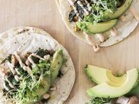 Flour Tortillas with Vegan Filling recipe