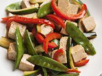 Tofu and Pepper Wok-fry recipe