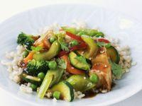 Tofu and Veg Stir-fry recipe