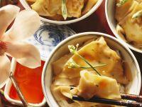 Tofu and Vegetable Dumplings recipe