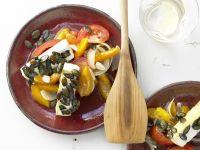 Tofu Cakes with Pumpkin Seeds recipe