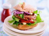 Tofu-Spelt Burgers recipe