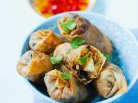 Tofu Vegetable Spring Rolls recipe
