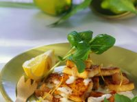 Tofu with Lemon Sauce recipe
