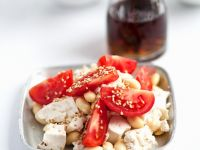 Tofu with Soybeans and Tomatoes recipe