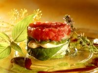 Tomato and Asparagus Layered Salad recipe