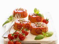Tomato and Basil Mousses recipe