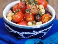Tomato and Chickpea Salad recipe