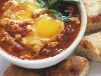 Tomato and Egg Bowls recipe