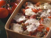 Tomato and Fennel Gratin with Mozzarella recipe