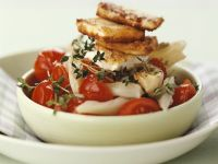 Tomato and Fennel with Roasted Feta recipe