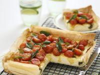 Tomato and Herb Tart recipe