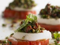 Tomato and Mozzarella Caprese recipe