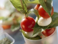 Tomato and Mozzarella Skewers recipe