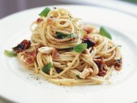 Tomato and Pancetta Spaghetti recipe