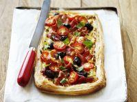 Ham and Tomato Tart recipe