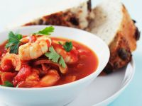 Tomato and Shrimp Ragout recipe