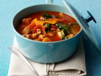 Tomato and Vegetable Stew with Tofu recipe
