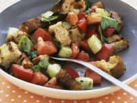 Tomato, Basil and Bread Salad recipe