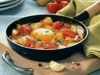 Tomato Breakfast Skillet recipe