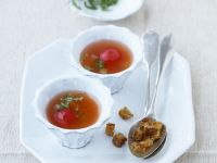 Tomato Broth with Vegetables recipe