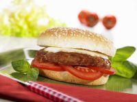 Tomato Cheeseburgers recipe