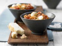 Tomato Curry with Bocconcini recipe
