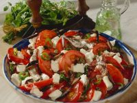 Tomato, Feta, and Olive Salad with Anchovies recipe
