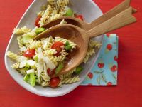 Tomato Pasta with Leeks recipe