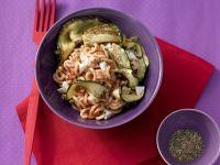 Tomato Pasta with Zucchini recipe